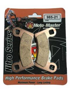 Moto Master Bremsbelege 98521 für Polaris Sportsman Scrambler 1000