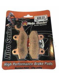 Moto Master Bremsbelege Brakepad 92621 vorne / hinten