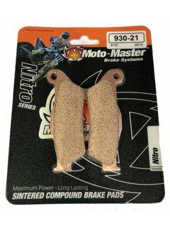 Moto Master Bremsbelege Brakepad 93021 vorne/hinten