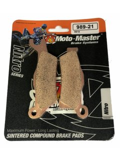 Moto Master Bremsbelege Brakepad 98921 vorne/hinten