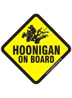 Hoonigan on Board Sticker Motiv 5