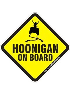 Hoonigan on Board Sticker Motiv 6