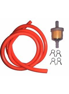 Solido Benzinschlauch 1 m orange inkl. Benzinfilter und Clips