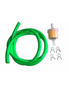 Solido Benzinschlauch 1 m grün inkl. Benzinfilter und Clips