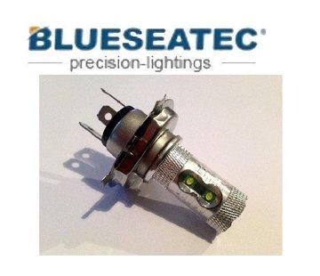 Blueseatec LED Lampe 60W Cree H4