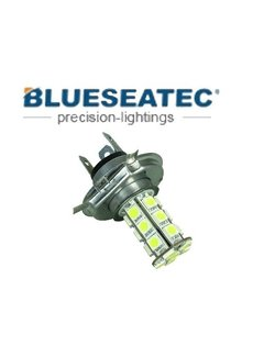 Blueseatec LED Lampe PL-H4-18-5050SMD Color white