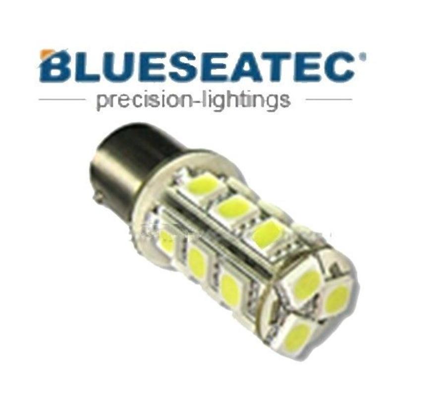 LED Lampe T20/S25-18-5050smd Color white Bau15s