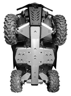 XRW Skid Plate Kit Outlander 1000cc XMR Bj. 13-16
