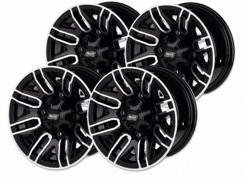 Moose Utility Felgensatz 12 Zoll 112X Wheels