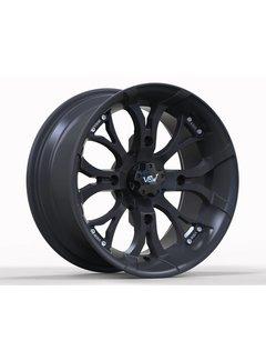 "VBW - tires 12"" Felge A2 ATV Alufelgen matt black"