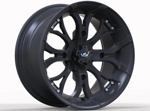 VBW - tires VBW-A2 ATV Alufelgen matt black