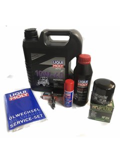 Liqui Moly Ölwechselset Wartungsset für Dinli Centhor Evo 565 / 700 / 800