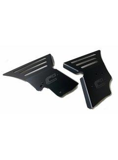CrossPro Frame Guard für Yamaha YFM 700 R Aluminium schwarz