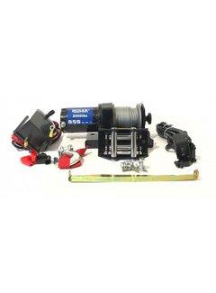 Husar Winch Seilwinde BST 2000 LBS inkl. Montageset