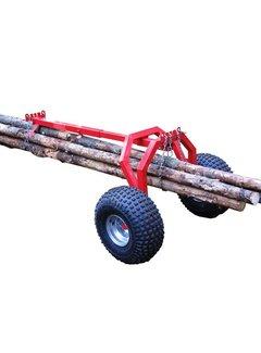 Iron Baltic ATV Log-Schlepper hintere Stützteil