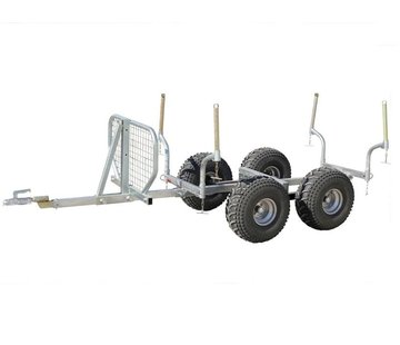 Iron Baltic ATV Anhänger Timber Trailer Combo