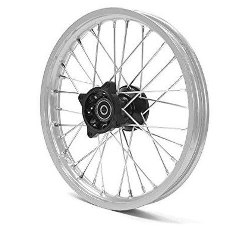 "Actionbikes Viken Dirt Bike/Pit Bike/Mini Moto Felge  ""Front Rim 14 Racing – Shafthinten orange 14 Zoll (neue Version) - Copy"