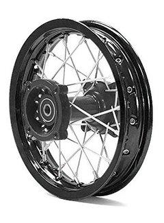 Actionbikes Felge Dirtbike Pit Bike Mini Moto Racing Rear Rim 12 - Shaft - ø12 mm