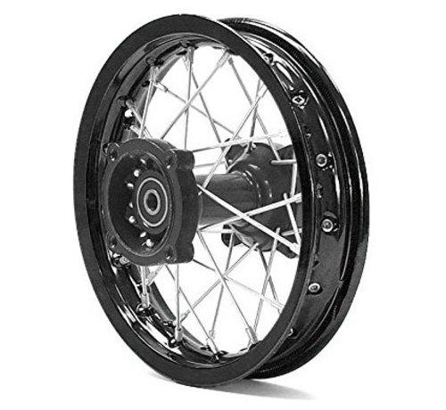 "Actionbikes Viken Dirt Bike/Pit Bike/Mini Moto Felge  ""Front Rim 14 Racing – Shafthinten orange 14 Zoll (neue Version) - Copy - Copy"