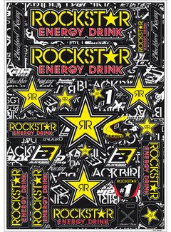 Blackbird Racing Aufkleber Rockstar Energy Kit universal