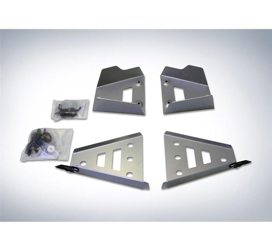 Complete Skid Plate Kit Aluminum Yamaha Viking