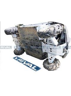 Rival Complete Skid Plate Kit Aluminum Yamaha Viking