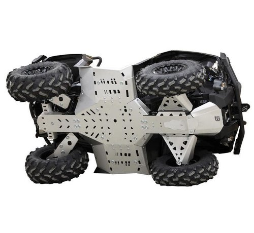 Iron Baltic Skid plate full set (aluminium) CanAm G2 Outlander MAX 650/850/1000 (2019+)