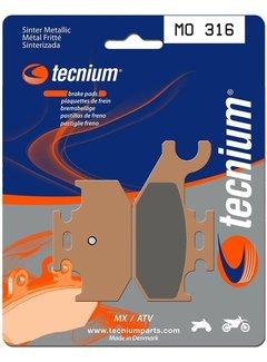 Tecnium Bremsbeläge MO316 Sintermetall  hinten Yamaha YFM700R