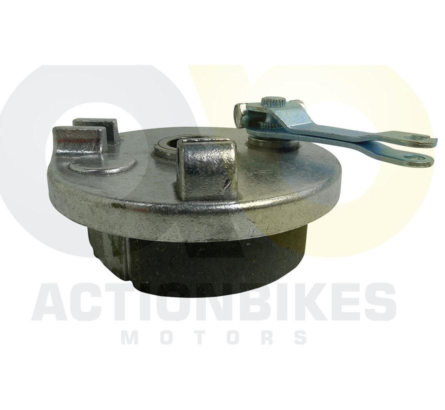 Mini Quad 110/125 cc Bremsaufnahme vorne links für 3 Bolzen Bremstrommel (S-5/S-8/S-10/S-12)