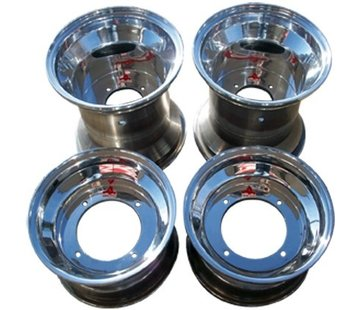 VBW - tires Quad Felgensatz Aluminium chrom