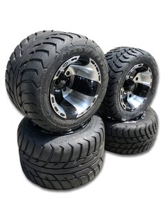 VBW - tires Komplettreifensatz Sport schwarz/silver Alufelgen mit Maxxis Spearz