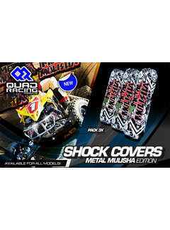 Quadracing Products Stossdämpferschützer Shock Cover Metal Mulisha