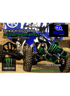 Quadracing Products Stossdämpferschützer Shock Cover Monster