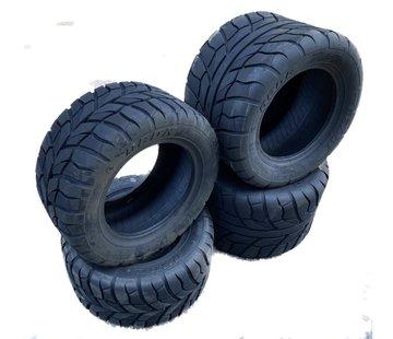 Wanda Tires Reifensatz Beast WP-07 2 x 195x50-10 & 2 x  255x40-10