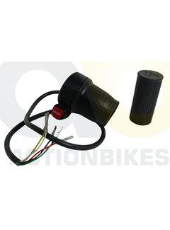 Actionbikes Highper Mini Crossbike Gazelle 500W Gasgriff mit Ein-/Ausschalter