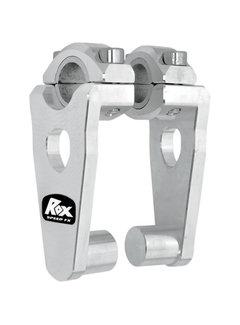 Rox Elite Pivoting Risers für 28,6 mm oder 22 mm Lenker Höhe 89 mm