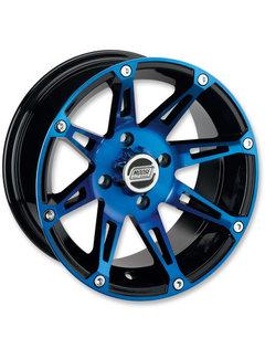 Moose Utility 387X Wheels - Machined  Alu Felgen blau