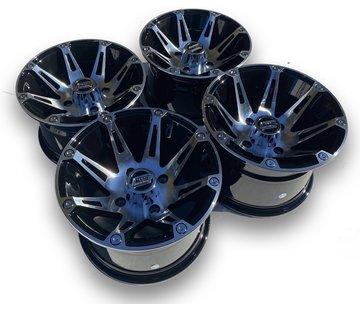Moose Utility Felgensatz 387X Wheels - Machined 12 Zoll