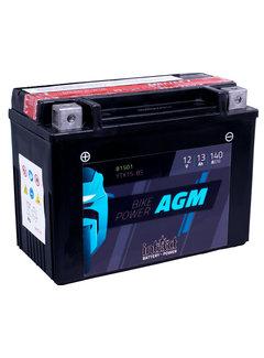 Intact Bike Power Batterie YTX15-BS mit Säurepack