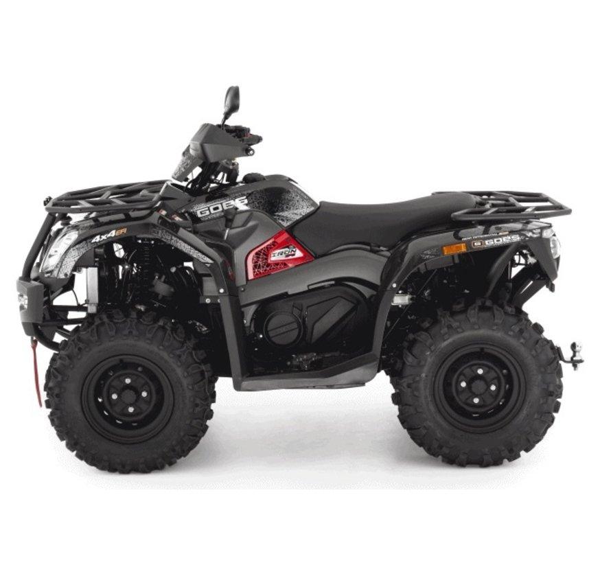 ATV IRON 4x4 EFI schwarz ( optional mit EPS ) Winteredition