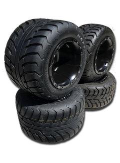 VBW - tires Komplettreifensatz Sport schwarz Alufelgen mit Maxxis Spearz