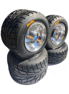 VBW - tires Komplettreifensatz Silver Dream Alufelgen mit CST Stryder