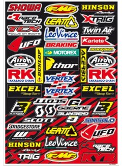 Blackbird Racing Aufkleber universal Sticker Set Sponsor Kit C