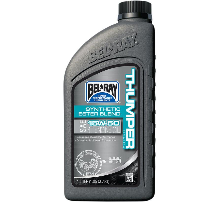 Thumper® Racing 15W50 4T-Motoröl mit synthetischer Estermischung