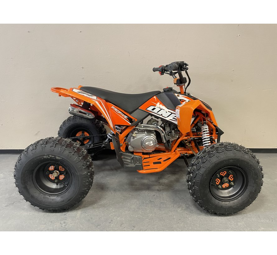 One 125cc Racing Kinderquad