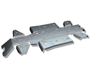 Rival Complete Skid Plate Kit Aluminum Unterfahrschutz für CFMoto Cforce 450 520 L DLX Langversion