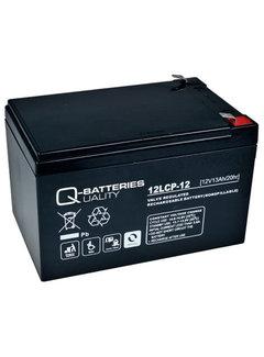 Quality Batterien Q-Batteries 12LCP-12 / 12V - 13Ah Blei Akku Zyklentyp AGM - Deep Cycle VRL