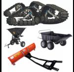 Anbauteile -  Anhänger - Salzstreuer - Schneeschilder