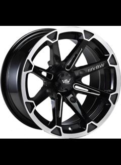 """VBW - tires VBW-A3 15"""" ATV Alufelgen silver/ matt black"""