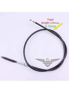 Wingsmoto Kupplungsseil mit Anpassung für 50cc-125cc Dirt Bike 1200 mm